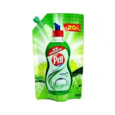 Pril Perfect Lime Dishwash Liquid Green Pouch