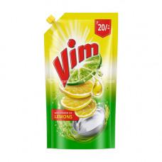 Vim Dishwash Gel Lemon Pouch