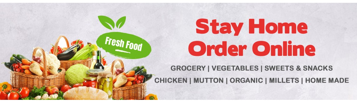 Stay Home Order Online